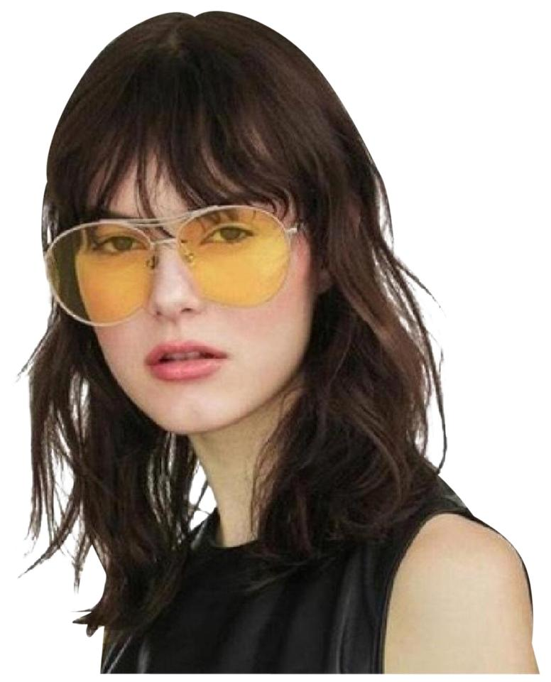 2f431f4efc2 Gentle Monster Silver   Yellow Jumping Jack Sunglasses Image 0 ...