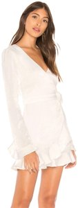 Donna Mizani short dress Ivory/white on Tradesy