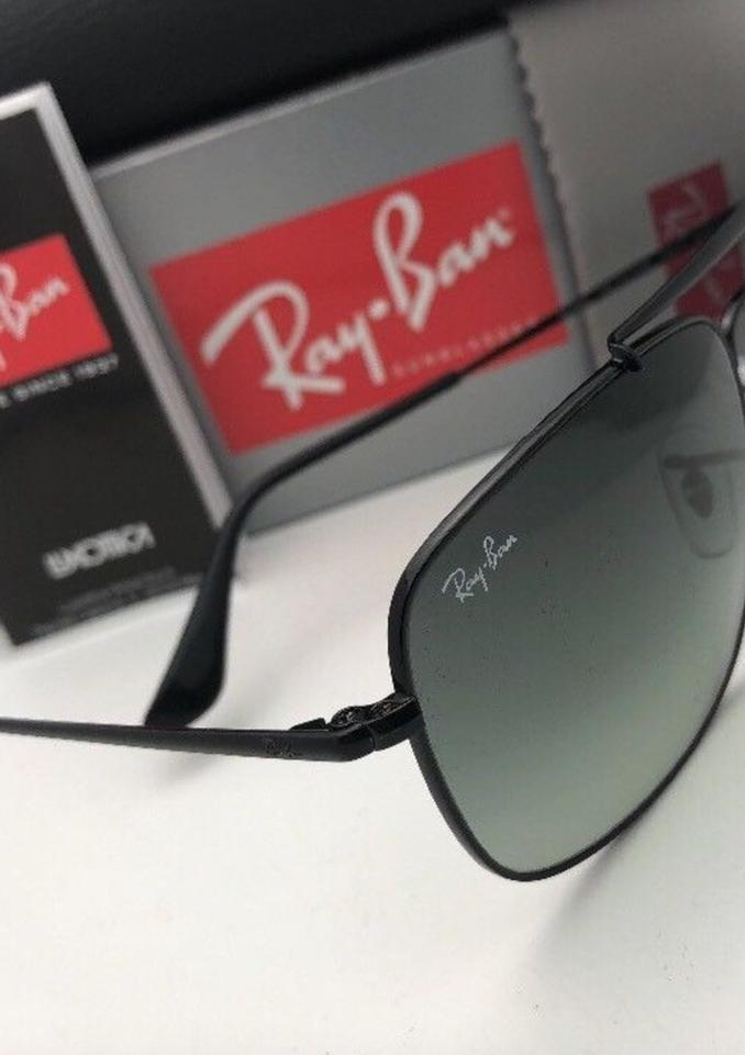 86844c8492 Ray-Ban New The Colonel Rb 3560 002 71 61-17 Black Aviator W  Grey ...