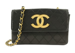 Chanel Classic Front Flap Single Flap Vintage Shoulder Bag