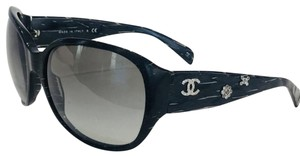 Chanel 5150B Floral quilted sunglasses