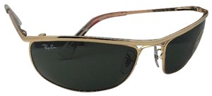 Ray-Ban New RAN-BAN Sunglasses OLYMPIAN RB 3119 001 62-19 120 Gold Frame w/G15