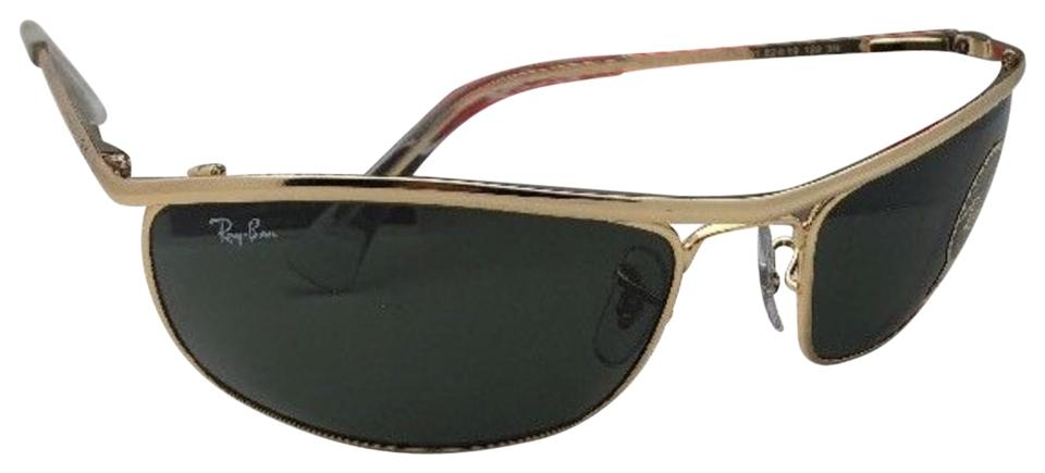 777c2bb8be12d Ray-Ban New Olympian Rb 3119 001 62-19 120 Gold Frame W  G15 Green W ...