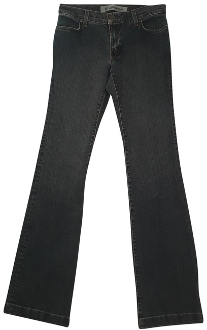 """Item - Dark Rinse Long and 4- 34"""" Inseam Excellent Condition Boot Cut Jeans Size 4 (S, 27)"""