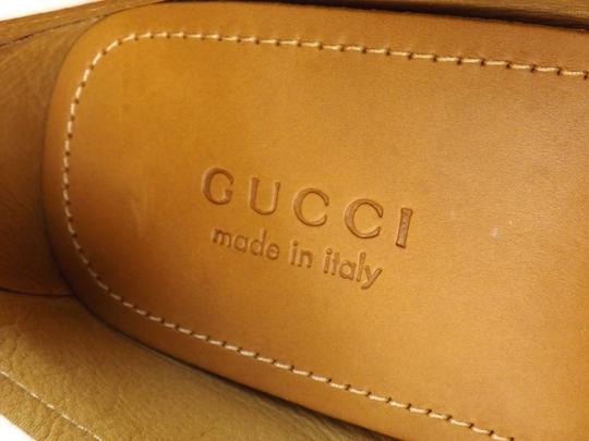 Gucci White Horsebit Web Logo Silver Driver Loafers 8 Us 9 #322741 Shoes