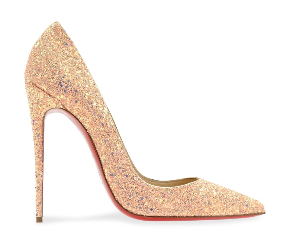 16ae6f1d132c Christian Louboutin Sokate Kate Pigalle Stiletto Glitter Pink Pumps Image 0  ...