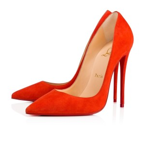 Christian Louboutin Sokate Kate Pigalle Stiletto Suede red Pumps