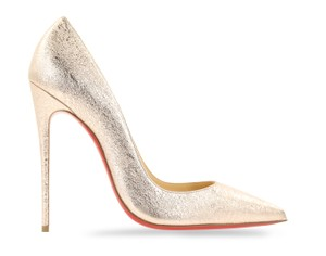 Christian Louboutin Sokate Kate Pigalle Stiletto Patent Pink Pumps