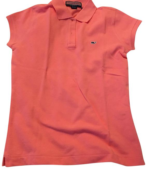 Item - Pink Coral Polo Button-down Top Size 0 (XS)