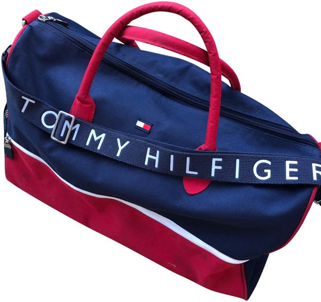 Item - Red/Blue/White Weekend/Travel Bag