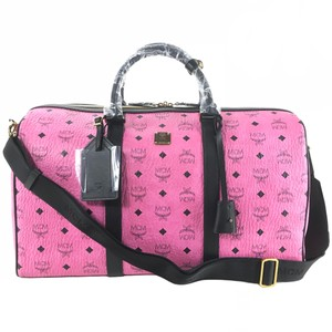 MCM Duffle Pink Travel Bag