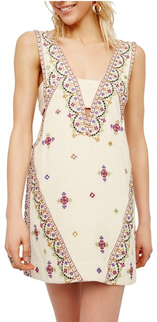 Preload https://img-static.tradesy.com/item/23482106/free-people-ivory-never-been-embroidered-sequin-cotton-sleeveless-mini-short-casual-dress-size-12-l-0-3-650-650.jpg