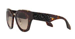 a51e1f46d9f2 Prada Free 3 Day Shipping SPR 10T 2AU-3D0 New Cat Eye Limited Edition