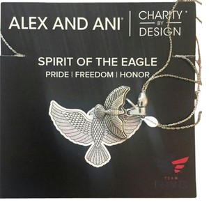 Alex and Ani Spirit of the Eagle Necklace Expand Rafaelian Silver