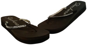 Skechers Thong BLACK Sandals