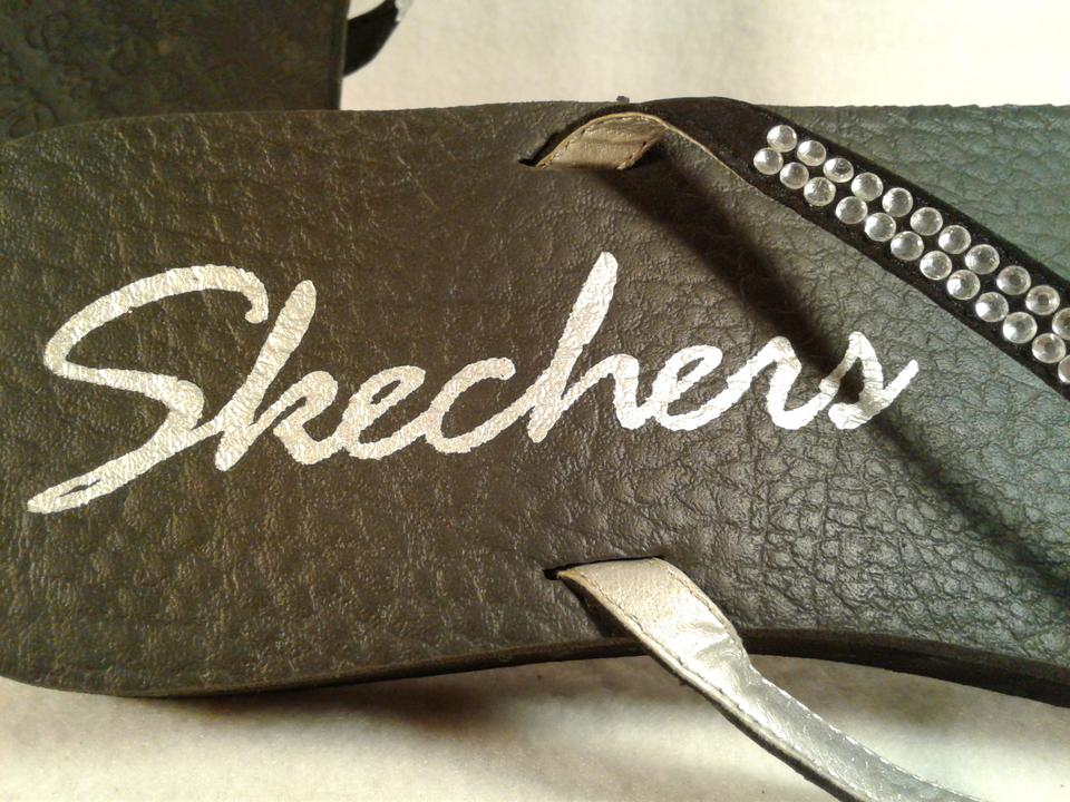 Skechers Black Casual Beach Comfort Comfort Comfort Sandals 2e18a5