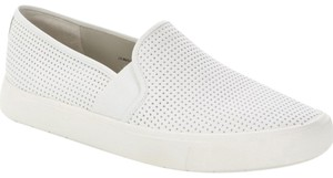 Vince Blair Slip-on Sneaker Perforated White Flats