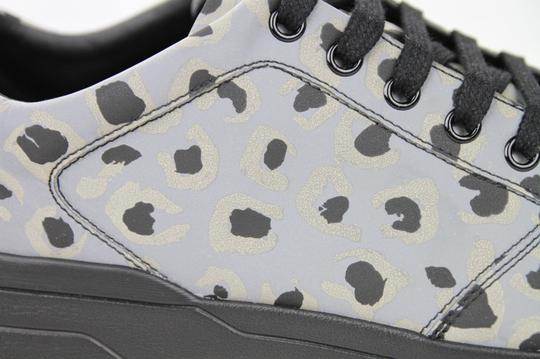 Gucci Gray Reflex Leopard Print Running Sneakers 9.5 G/ Us 10 368485 1400 Shoes Image 7