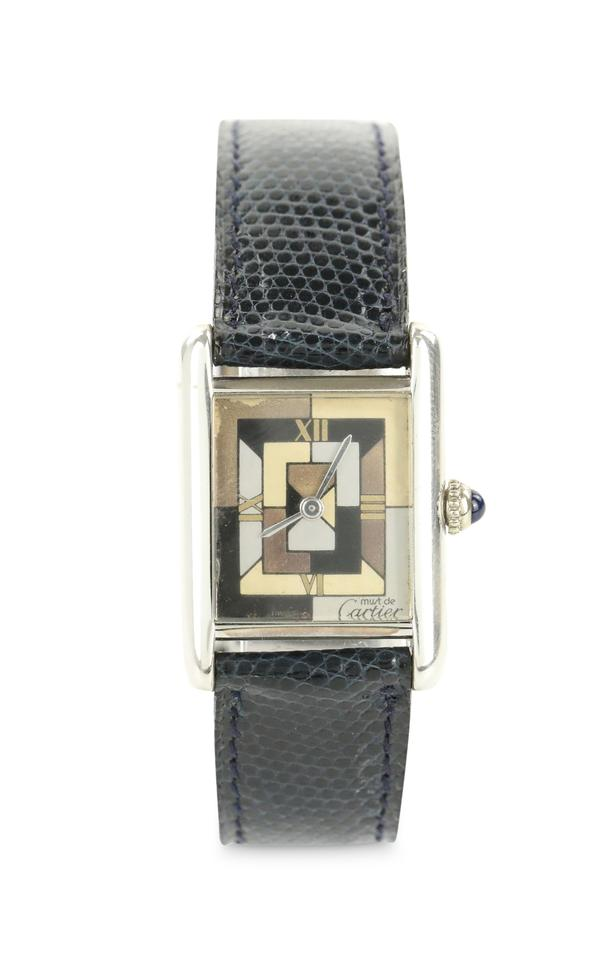 2396895ecc7 Cartier Silver Must De Tank Art Deco Watch - Tradesy
