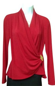 Sunny Leigh Top Red