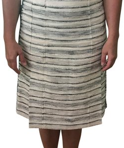 Tory Burch Skirt ivory and blue