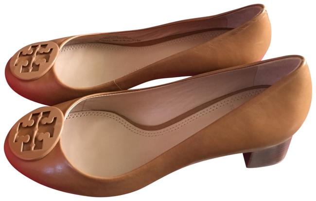 Item - Royal Tan Powder Coated Logo Heel 45mm Flats Size US 7.5 Regular (M, B)