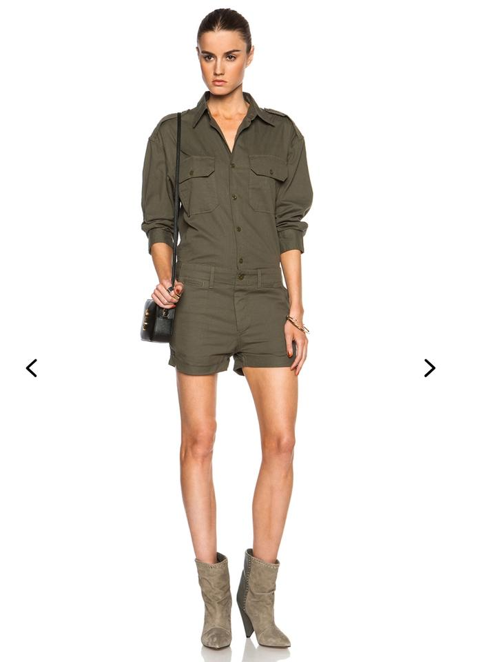Nlst Olive Drab Officers Jumper In Romperjumpsuit Tradesy