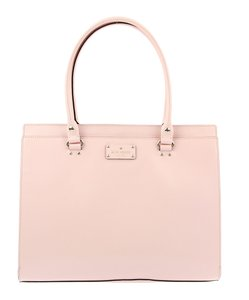 Kate Spade Leather Purse Tote in Light Pink