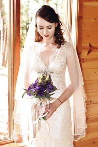 Maggie Sottero Cappuccino Lace Madrid Vintage Wedding Dress Size 0 (XS)