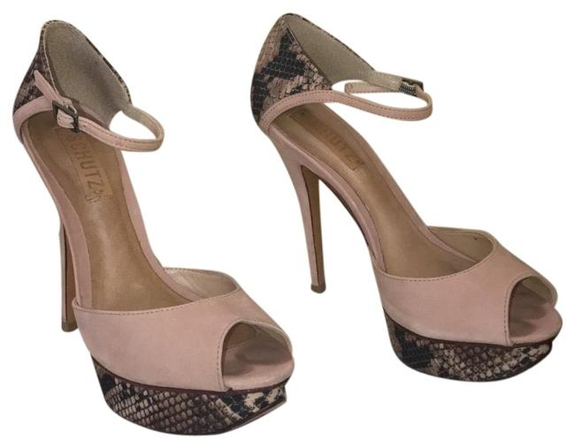 SCHUTZ Blush None Platforms Size US 8 Regular (M, B) SCHUTZ Blush None Platforms Size US 8 Regular (M, B) Image 1