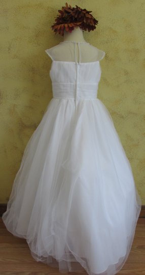 Alfred Angelo Ivory Alfred Angelo Flower Girl 6666 - Size 8 - Ivory A-15-2 Dress
