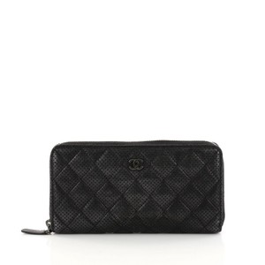 3997b1e01877 Chanel Micro-mini Leather Black Clutch