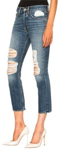 Brock Collection Straight Leg Jeans-Distressed
