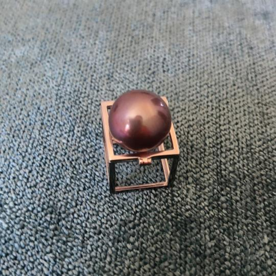Other 14k white gold and purple pearl Image 7