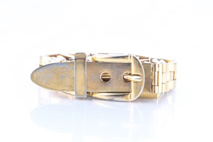 Gucci Gucci Vintage Gold Plated Belt