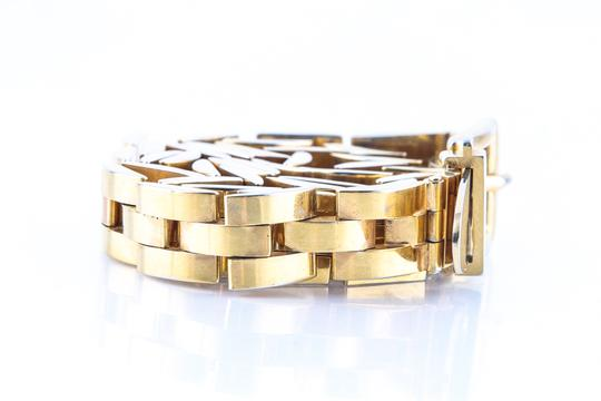 Gucci Gucci Vintage Gold Plated Belt Image 3