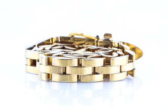 Gucci Gucci Vintage Gold Plated Belt Image 5