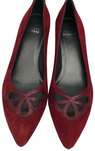 Stuart Weitzman Deep red Pumps