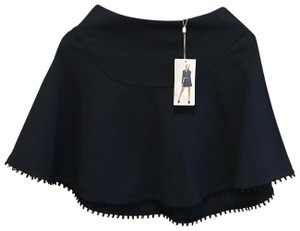 Finders Keepers Mini Skirt navy