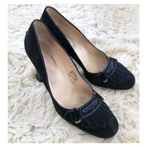 Tod's Navy Pumps