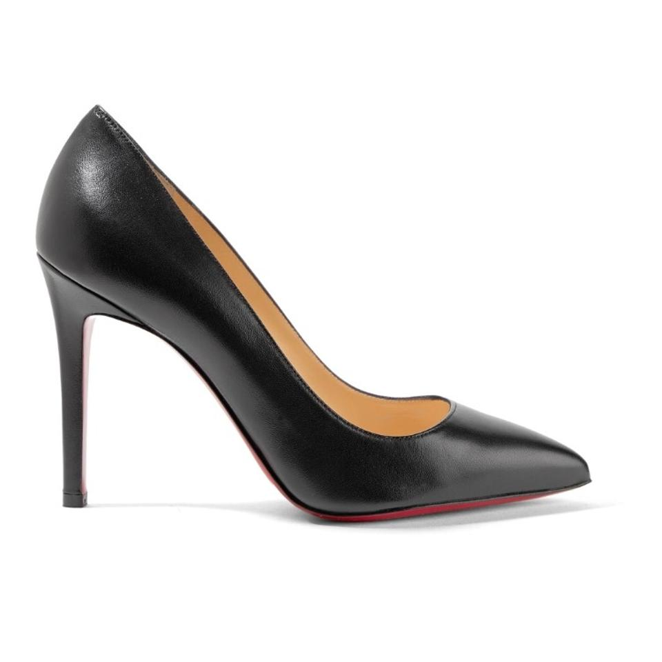 0fea4362e32 Christian Louboutin Pigalle 100 Pointy Leather Pumps Size US 6 Regular (M,  B)