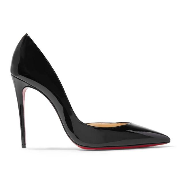Christian Louboutin Black Iriza 100 Patent Leather Pumps Size EU 36 (Approx. US 6) Regular (M, B) Christian Louboutin Black Iriza 100 Patent Leather Pumps Size EU 36 (Approx. US 6) Regular (M, B) Image 1
