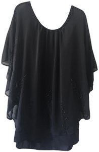 Free People Cape Embellishment Anthropologie Festival Dress