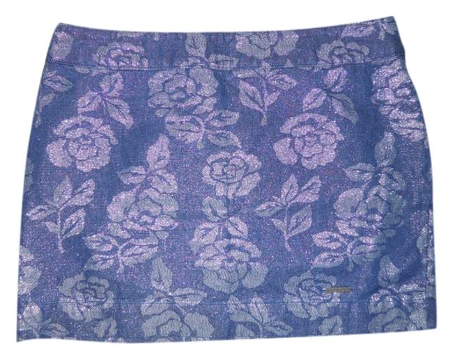 Preload https://img-static.tradesy.com/item/2348560/abercrombie-and-fitch-blue-metallic-floral-print-miniskirt-size-0-xs-25-0-0-650-650.jpg