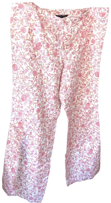 Item - Pink and White Pants Size 12 (L, 32, 33)