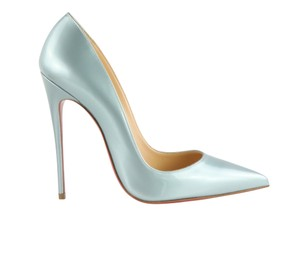 Christian Louboutin So Kate 120 Blue Pumps