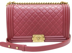 Chanel Medium Boy Calfskin Shoulder Bag