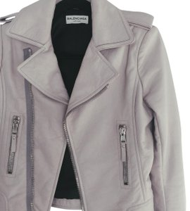 Balenciaga taupe Leather Jacket