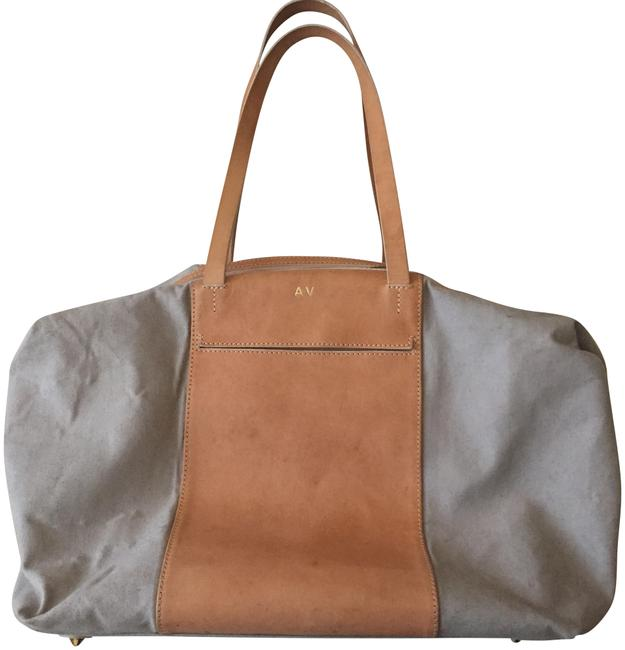 Item - Le Sud Overnight In Beige Canvas and Leather Weekend/Travel Bag