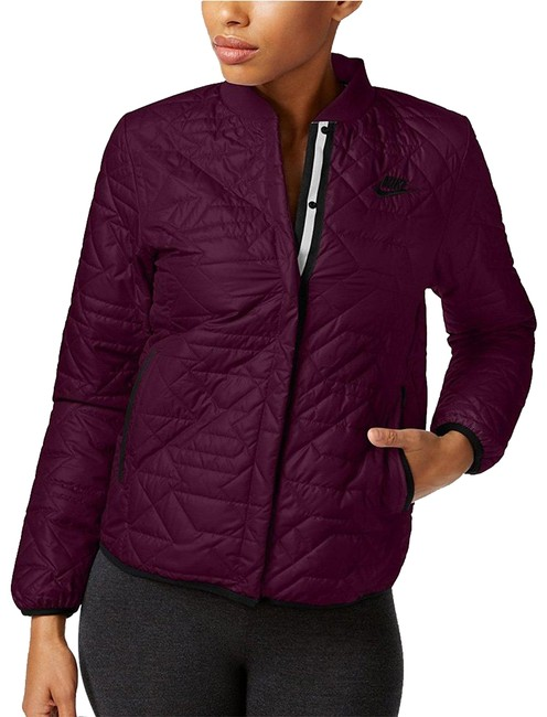 Preload https://img-static.tradesy.com/item/23486233/nike-burgandy-sportswear-quilted-activewear-jacket-size-12-l-0-1-650-650.jpg